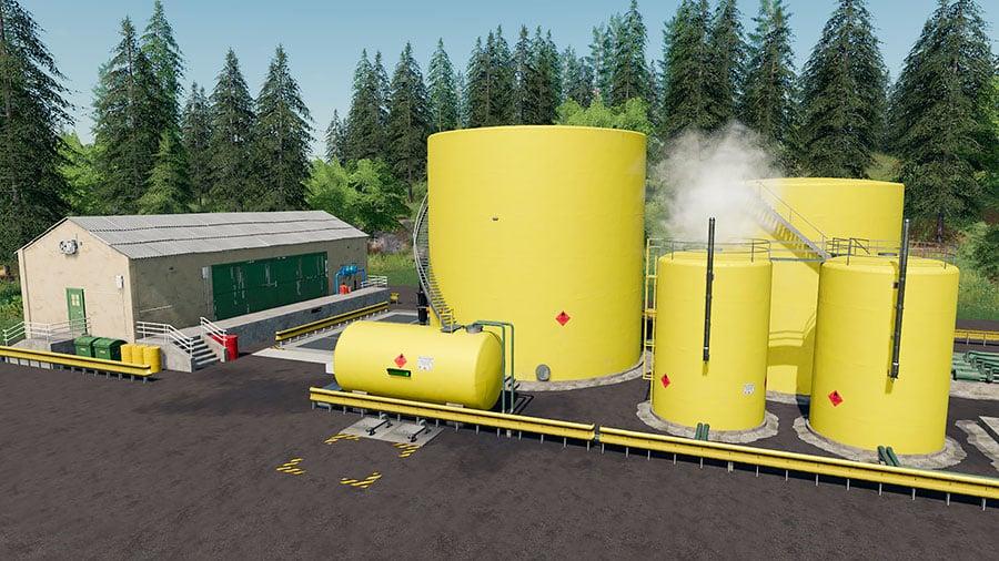 A placeable diesel fuel production plant by Stevie up close