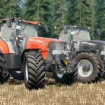 A new and one older version of the Case IH Puma tractors, representing the addon for Farming Simulator 19