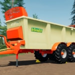 Close up image of the Leboulch spreader addon for Farming Simulator 19