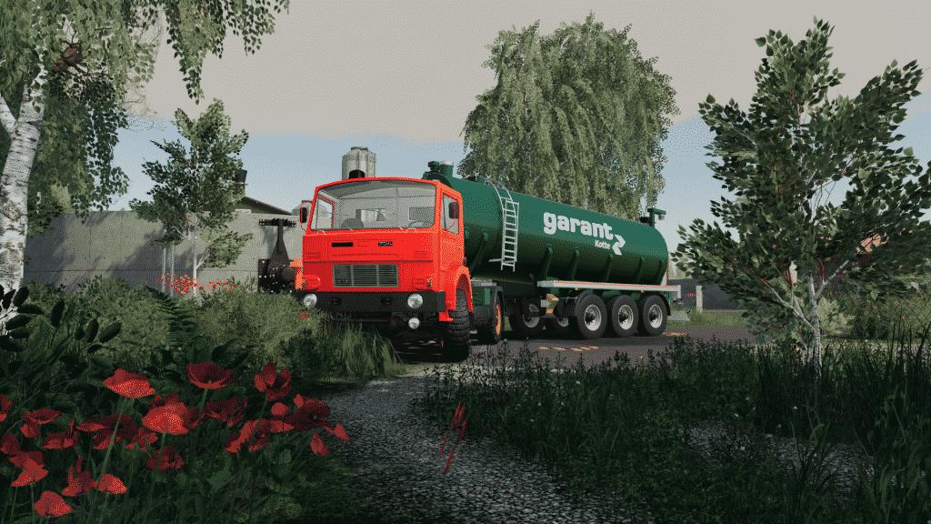 fs19 D-754 Truck Pack with garant trailer