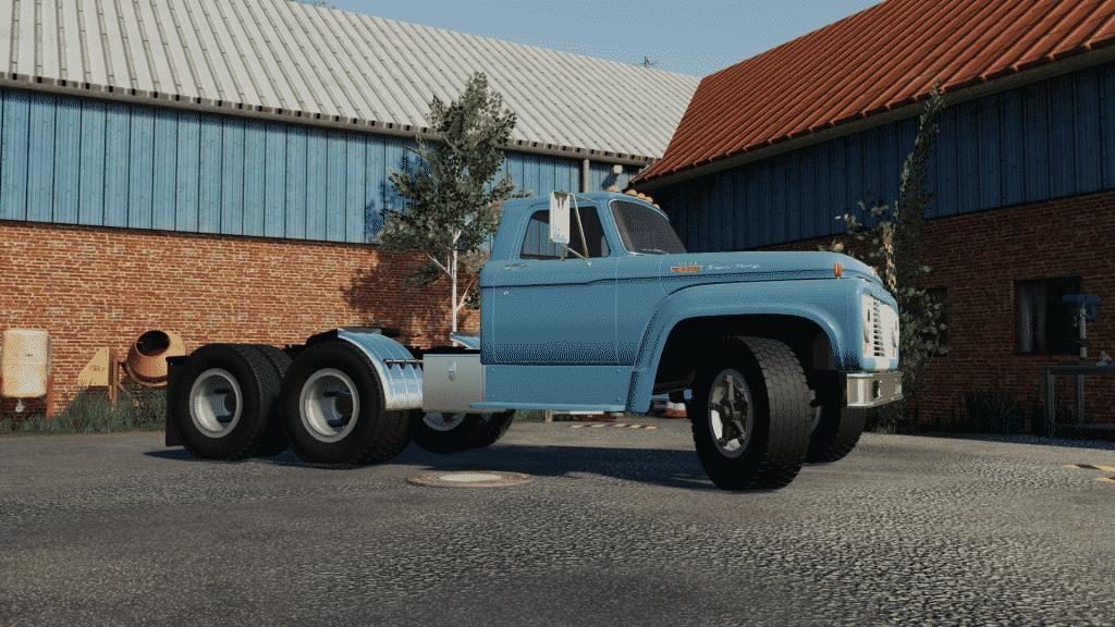 FS19 mods OKUSEDMODS FORD T850