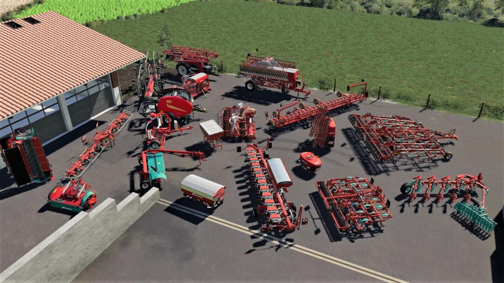 Farming simulator 19 - kverneland & vicon equipment pack key